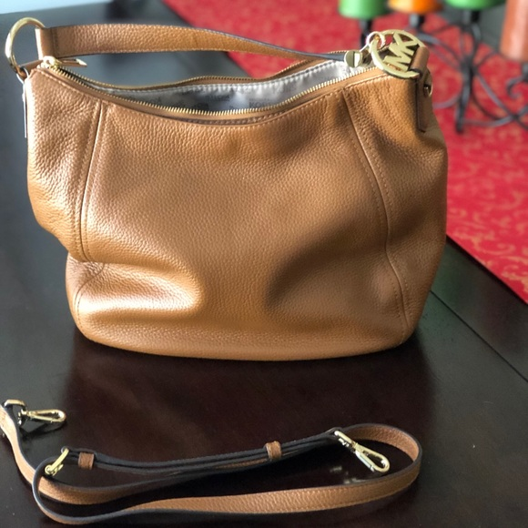 Michael Kors Fulton Large Top Zip Shoulder Bag